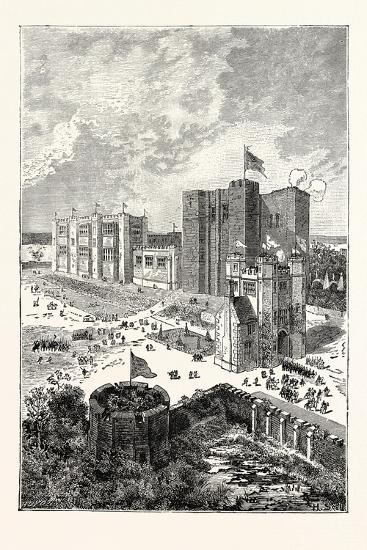 Kenilworth Castle in the Sixteenth Century--Giclee Print