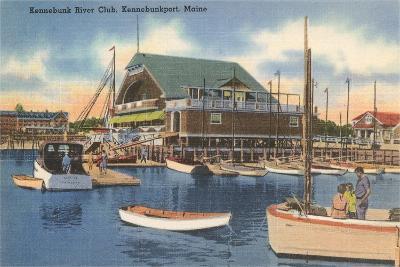 Kennebunk River Club, Kennebunk Port--Art Print