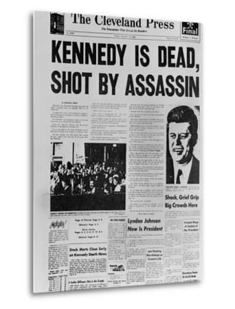 Kennedy Assassination Headline