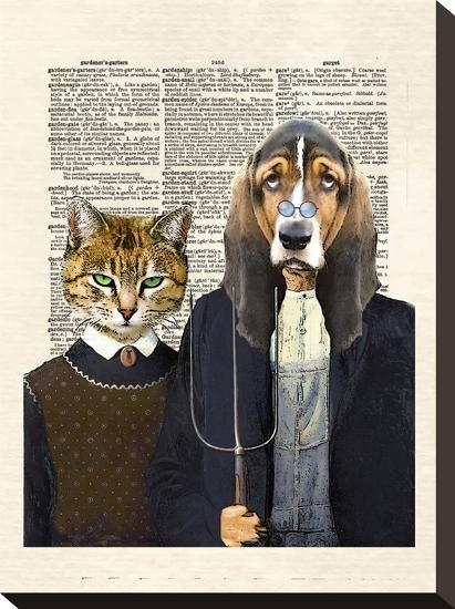Kennel Gothic-Matt Dinniman-Stretched Canvas Print