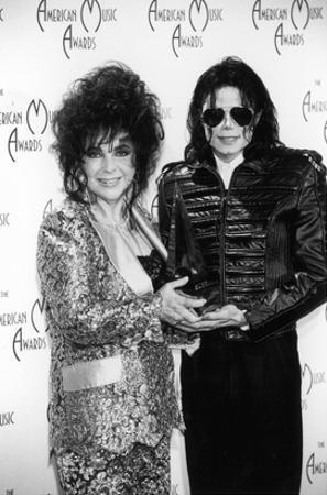 Michael Jackson and Elizabeth Taylor - 1993