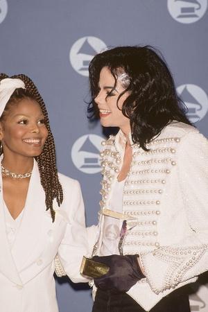 Michael Jackson and Janet Jackson - 1993
