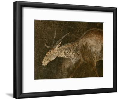 A Close View of an Eland in a San Rock Painting