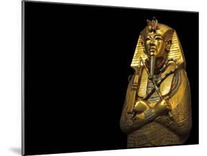 A Coffin of Solid Gold Held King Tut's Mummified Remains by Kenneth Garrett