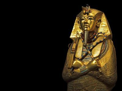 A Coffin of Solid Gold Held King Tut's Mummified Remains