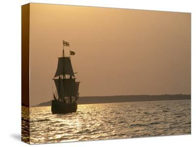 A Replica of the Maryland Dove, a 17th Century Sailing Ship