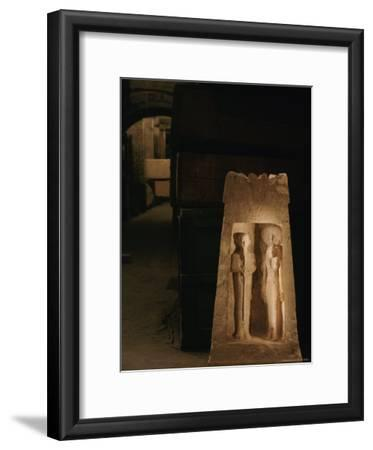 A Shrine from Marsa Matruh Holds Images of the Gods Ptah and Sekhmet