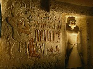 A View Inside the Tomb of Iasen by Kenneth Garrett