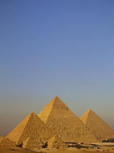 A View of the Great Pyramids of Giza by Kenneth Garrett