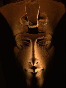 Akhenaten Statue, Pharaohs of the Sun, Luxor Museum, Amarna, Egypt by Kenneth Garrett