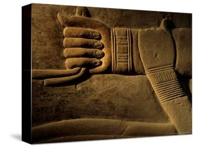 Clasped Hand of the Official Khudu-Khaf in Cemetery near Giza, Old Kingdom, Egypt