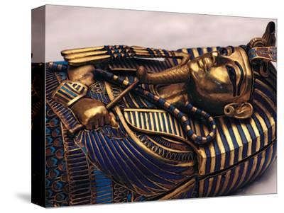 Gold Coffinette, Tomb King Tutankhamun, Valley of the Kings, Egypt