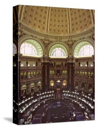 Interior of the Library of Congress, Washington, D.C.