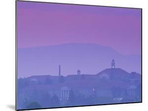 James Madison University at Dusk, Virginia by Kenneth Garrett