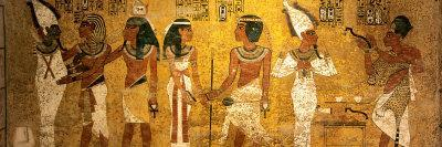 King Tut Tomb Wall, Egypt