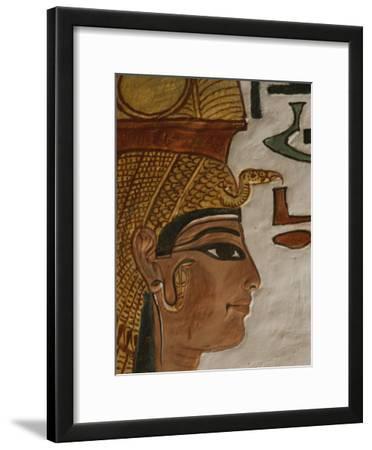 Nefertari Tomb Scenes (Detail), Valley of the Queens, Egypt