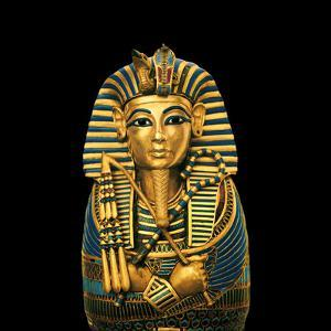 One of four statuettes for the viscera of Tutankhamun. by Kenneth Garrett