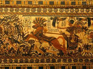 Painted Box, Tomb King Tutankhamun, Valley of the Kings, Egypt by Kenneth Garrett