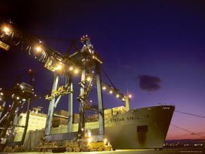Port in Baltimore, Maryland by Kenneth Garrett