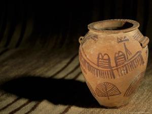 Predynastic Pot from Naqada I, Cairo Museum, Egypt by Kenneth Garrett
