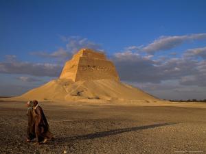 Pyramid, Medium, Sneferu, Old Kingdom, Egypt by Kenneth Garrett