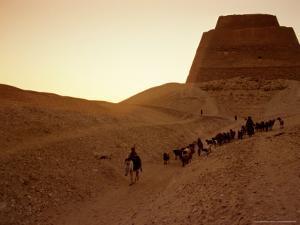 Pyramid of Meidum, Old Kingdom, Egypt by Kenneth Garrett