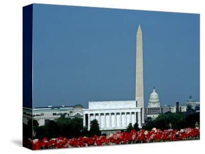 Scenic View of Washington D.C. Monuments, Washington, D.C.
