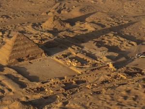 Step Pyramid of Djoser, Saqqara, Old Kingdom, Egypt by Kenneth Garrett