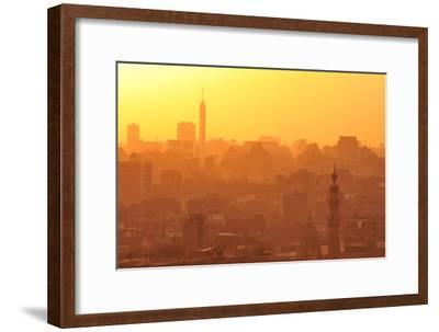 Sunset over Old Cairo