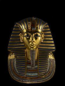 The Funerary Mask of King Tutankhamun by Kenneth Garrett