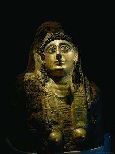 The Golden Covering of a Female Mummy Found at Bahariya by Kenneth Garrett