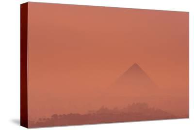The Pyramid of Khufu at Sunrise