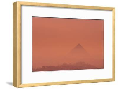 The Pyramid of Khufu at Sunrise