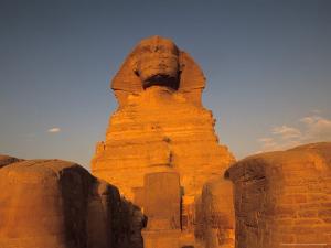The Sphinx, Dream Stele, Giza, Egypt by Kenneth Garrett
