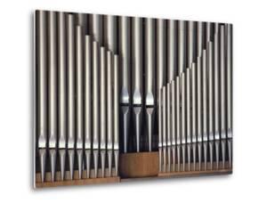 Three Rows of Organ Pipes by Kenneth Garrett