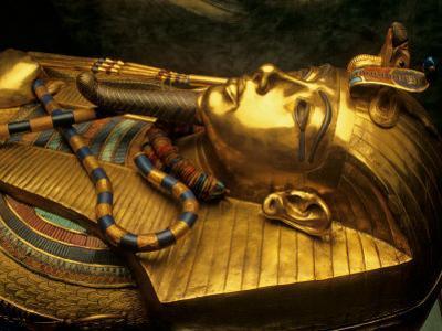 Valley of the Kings, Golden Coffin, Tutankhamun, Egypt