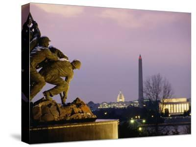 View of the Iwo Jima Monument