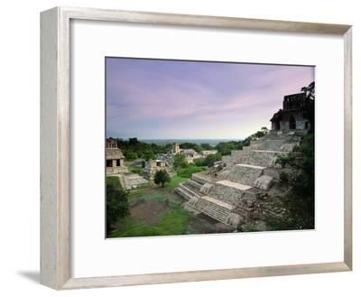 View of the Mayan Ruins at Palenque