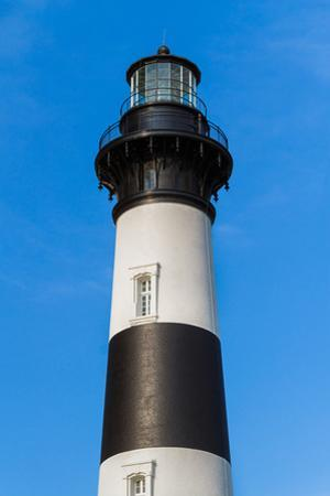 Bodie Island Lighthouse Top by Kenneth Keifer