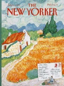 The New Yorker Cover - July 31, 1989 by Kenneth Mahood
