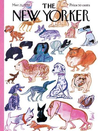 The New Yorker Cover - March 21, 1970