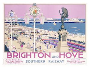 Brighton and Hoveii by Kenneth Shoesmith