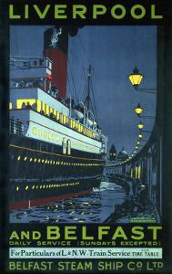 Liverpool and Belfast by Kenneth Shoesmith
