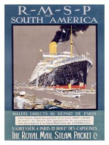 RMSP to South America by Kenneth Shoesmith