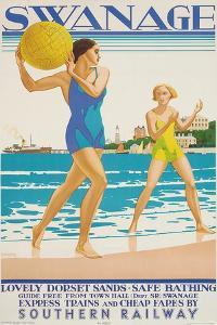 Swanage, 1938 by Kenneth Shoesmith