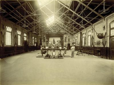 Kensington and Chelsea District School, Gymnasium-Peter Higginbotham-Photographic Print