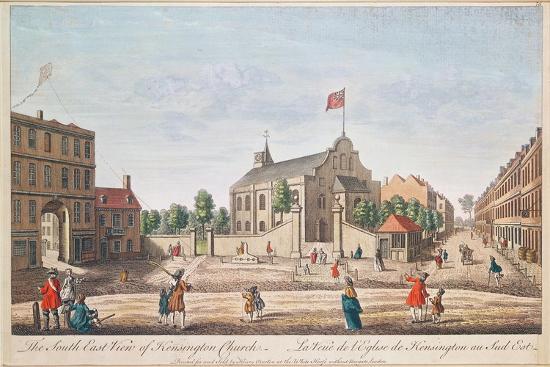 Kensington Church, London, S.E. View--Giclee Print