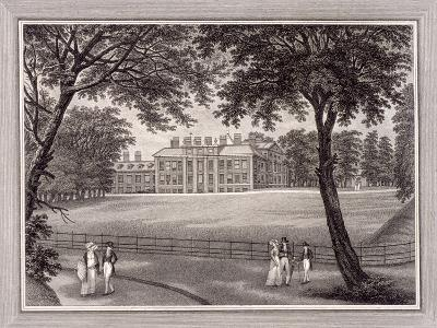Kensington Gardens, Kensington, London, 1823-T Vivares-Giclee Print