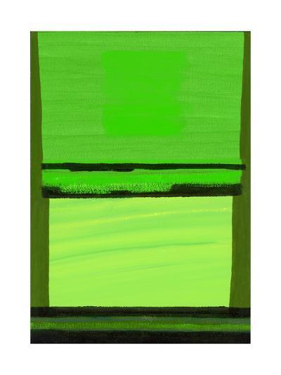 Kensington Gardens Series: Green on Green-Izabella Godlewska de Aranda-Giclee Print