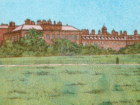 'Kensington Palace', c1902-Unknown-Giclee Print